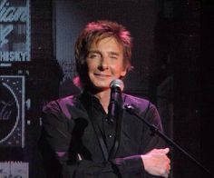 Barry Manilow on stage in Las Vegas. Barry Manilow, Gives Me Hope, Music Icon, Favorite Person, Love Him, Take That, March 6, Angel, Magic
