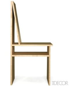 Magazine chair in maple by Sawkille Co.