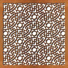 Persian Panel | ... persian circles painted panels borrego springs ca persian circles