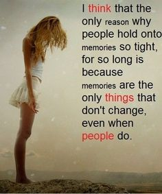 MEMORIES SO TIGHT- LOVE QUOTES