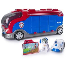 Paw Patrol Mission Paw, Mission Cruiser, Robo Dog and Vehicle,