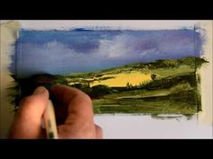 3 Fast landscapes and some oil painting tips - YouTube