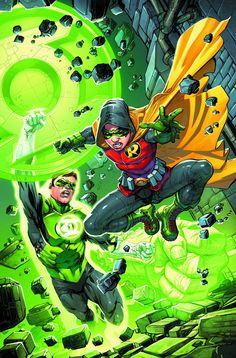 ROBIN SON OF BATMAN #4 GREEN LANTERN 75 VARIANT