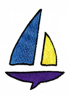 CHILD'S SAILBOAT