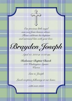 9 best baptism invitation wording images on pinterest baby