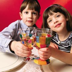 Get kids excited about Passover before the Seder with these fun-to-make Kiddush Cups