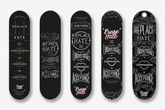 #type #skateboard
