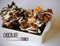 Chocolate Caramel Crunch on MyRecipeMagic.com Two of you favorite combinations mixed together!