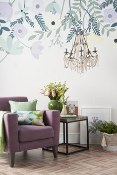 Styling Botanical Prints With Good Homes Magazine Diy ChandelierBeautiful Living RoomsHouse