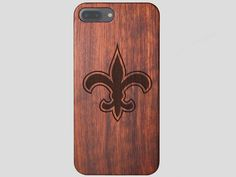 New Orleans Saints Wooden iPhone 7 Plus Case