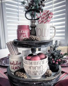 27 Beautiful Christmas Kitchen Decor Ideas And Makeover. If you are looking for Christmas Kitchen Decor Ideas And Makeover, You come to the right place. Here are the Christmas Kitchen Decor Ideas And. Christmas Kitchen, Noel Christmas, Rustic Christmas, Christmas Crafts, Christmas Ornaments, Christmas Design, Christmas Wreaths, Christmas Villages, Silver Christmas