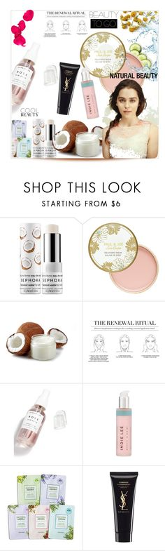 """Keep it Clean: Minimalist Beauty"" by monika-85 on Polyvore featuring uroda, Sephora Collection, Paul & Joe, Herbivore i Yves Saint Laurent"