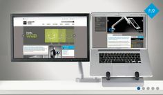 Flo Dual Monitor Arm - Product Page: http://www.genesys-uk.com/Ergonomic-Products/Dual-Monitor-Arms/Flo-Dual-Monitor-Arm.Html  Genesys Office Furniture - Home Page: http://www.genesys-uk.com  The Flo Dual Monitor Arm is mounted with a single desk clamp, but can support dual screens, or a single screen alongside a tablet or laptop.