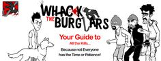 Whack The Burglars Game