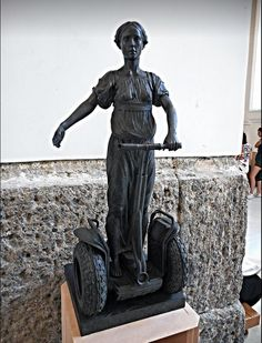 Statue by Alexey Morosov (born 1974) - Temporary exhibition up to August 31, 2016, at Archaeological Museum of Naples 9