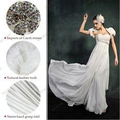 Wedding Dress Chiffon S605    www.top-bride.cn  www.top-bride.com  MSN:top-bride@hotmail.com   Skype: topbride707
