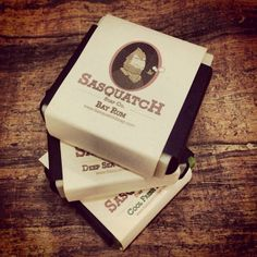 A bar of perfectly scented Sasquatch Soap will speak to the outdoorsman in you.