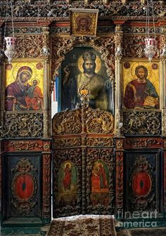 The Eastern Orthodox Saints Religious Images, Religious Icons, Religious Art, Byzantine Icons, Byzantine Art, Christian Church, Christian Art, Byzantine Architecture, Art Roman