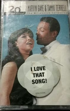 The Best of #MarvinGaye #TammyTerrell Cassette Tape NWT 20th Century Masters #Motown