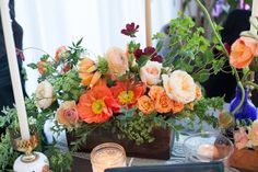 Colorful Early Spring Centerpiece