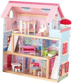 AMAZON: KidKraft Doll House with Furniture Only $59.50 (Reg. $129.99)!