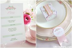 FREE Printable Wedding Stationery + favor box !!! by Bird's Party for HGTV  #free #printables #weddings #stationery #hgtv #birdsparty