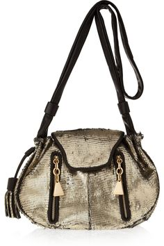 See by Chloe feather textured leather shoulder bag. Need...