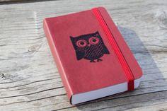 Owl Journal Pocket Sketch Book Pad by CrimsonHollow on Etsy, $8.00