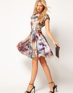 Gorgeous Print - Ted Baker dress