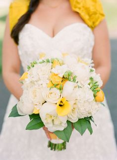 white, yellow, green ... great bouquet