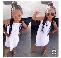 Perfect Kids Hairstyles For Summer Days - Braids Hairstyles for Black Kids Little Girl Braids, Black Girl Braids, Braids For Kids, Girls Braids, Kid Braids, Braids Cornrows, Tree Braids, Fulani Braids, Plaits