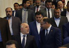 قال رئيس الوزراء العراقي حيدر العباديالأربعاء إن حكومته لن تتفاوض مطلقا على نتائج استفتاء انفصال إقليم شمالي البلاد. جاء حديث العبادي خلال جلسة البرلمان