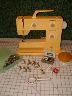Bernina Nova Yellow  The lifetime machine