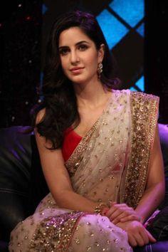 Katrina Kaif in saree                                                                                                                                                      More