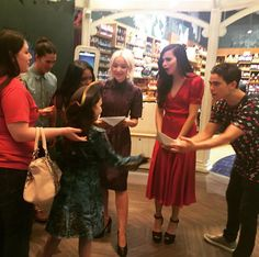 The cast of #Descendants2 with fans