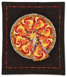 ... images about pizza quilt on Pinterest | Pizza, Quilt and Pizza blanket