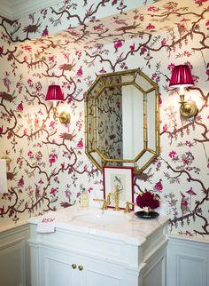 Painted vanity :: Ashley Whittaker Design ::