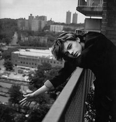 What's that? You'd jump off this building for me? Oh you don't have to do that. You just have to go back in time once you are 20 to 1994 and convince me to give up smoking and make me fall in love with you. That's all