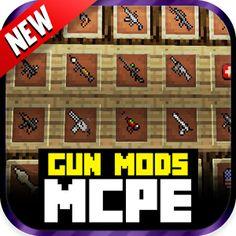 Gun Mod For MCPE! 1.0