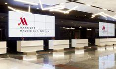 New Principe Felipe Congress Center Entrance #Madrid #Marriott #Auditorium