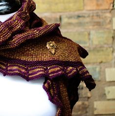 Ravelry: West End Scarf pattern by Carina Spencer, knitting pattern scarf