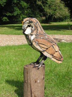 Love Harriet mead's Barn owl. She captures character beautifully.