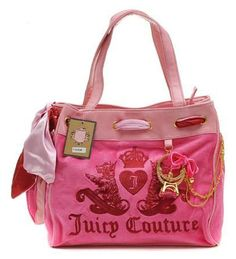 Juicy Couture Ring Bling Daydreamer Handbag Pink