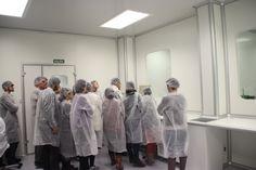 Visita de los estudiantes de Técnico en Farmacia  del IES Las Musas de Madrid a Laboratorios @BOIRON ESP, Les mostramos el proceso de elaboración de nuestros medicamentos #homeopaticos