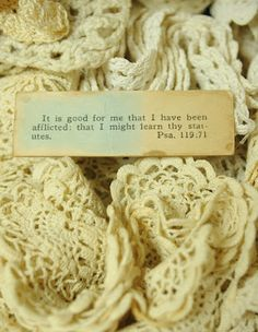 Faith, Grace, and Crafts: Pearls and Lace Thursday #107 Piles and Piles of Lace and Grace