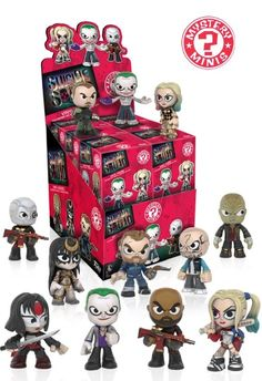 Suicide Squad Mystery Mini Figures Mystery Minis (Whole Case)