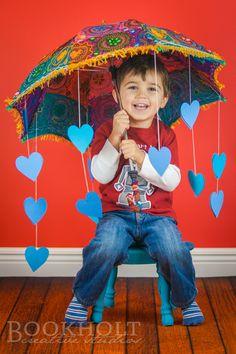 Valentine's Day Studio Portraits.