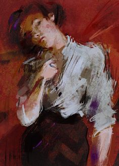 ArtStation - Audrey Horne, Nadia Dubijansky