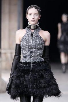 Alexander McQueen — gothic space babe