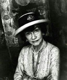 couturiere Mademoiselle Coco Chanel